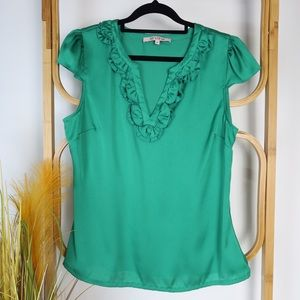 Review top size 12 emerald green cocktail party